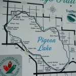 Pigeon Lake Trail Map
