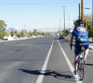 2014-11-02 - Las Vegas Cycling Lane