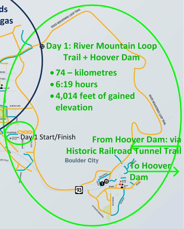 Spin City Cycling Vegas Hoover Dam And The Loop