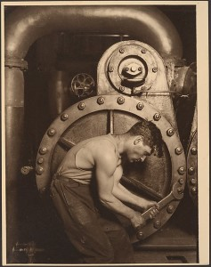 Steamfitter, by Lewis Hine (American, 1874–1940) .  Metropolitan Museum of Art, New York.  Accession Number: 54.549.56