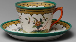 Teacup and saucer (Detail) Designer: Designed by Karl L. H. Müller (ca. 1820–1887). Metropolitan Museum of Art, Accession Number: 69.194.9, .10