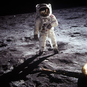 Buzz Aldrin Apollo 11 - the beneficiary of a series of Proof of Concepts.